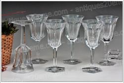 Baccarat Malmaison crystal glasses