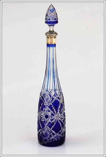 Carafe à vin de Moselle en cristal de Baccarat modèle Fantaisie, Baccarat crystal wine carafe