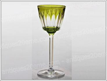 Verres carafes cristal Baccarat modèle service Val d'Oise