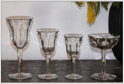 Service cristal Baccarat Malmaison