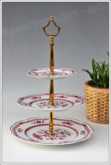 Porte-douceurs en porcelaine de Limoges Haviland Arbre Pourpre, Limoges Haviland porcelain sweets holder