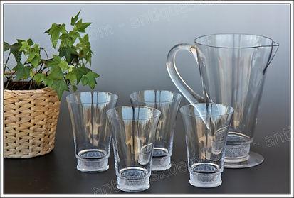 Service verres cristal Lalique Reims