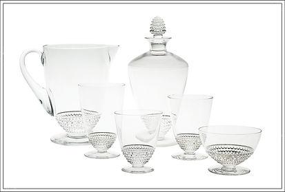 Service cristal Lalique Nippon
