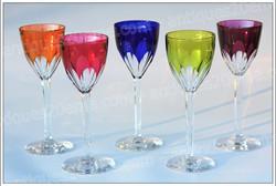 Baccarat Genova crystal roemer glasses