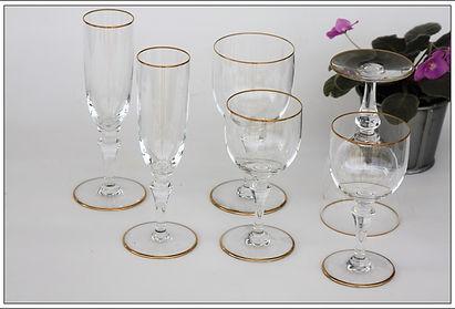 Service cristal Baccarat Manon Mahora