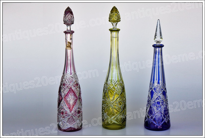 Carafes cristal Baccarat