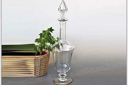 Carafe verres cristal Baccarat Vienne