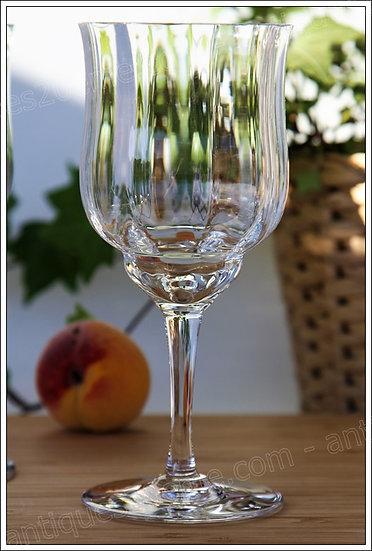 Verre à eau du service en cristal Baccarat Capri, Baccarat crystal water glass