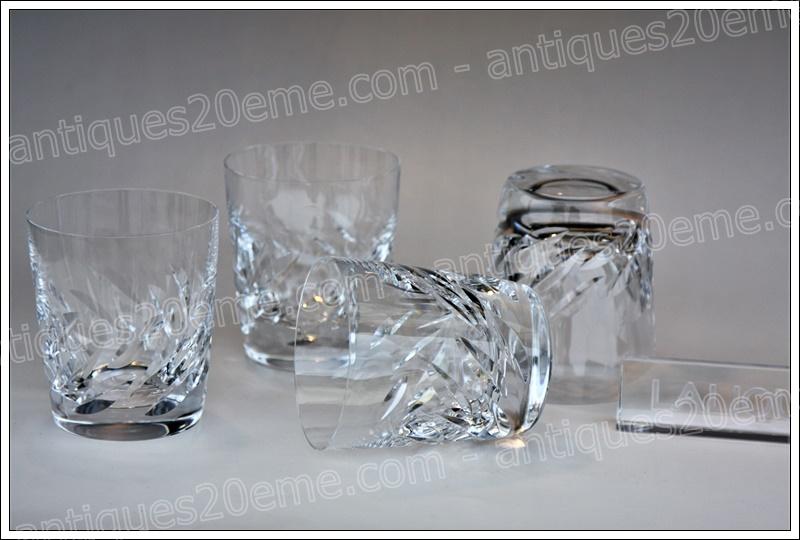 Verres à whisky Lalique Artois