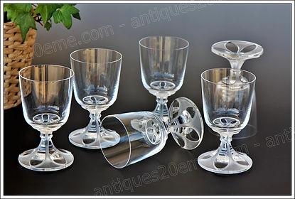 Service cristal Lalique Valençay