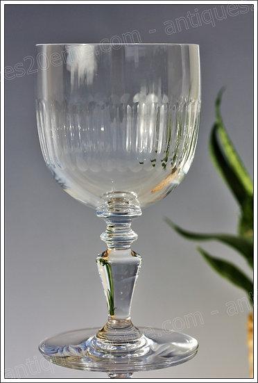 Verres à vin en cristal de Baccarat modèle service Renaissance, Baccarat crystal wine glasses