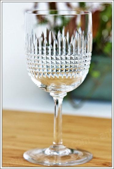 Verre à eau en cristal du service Baccarat Nancy, Baccarat crystal water glass
