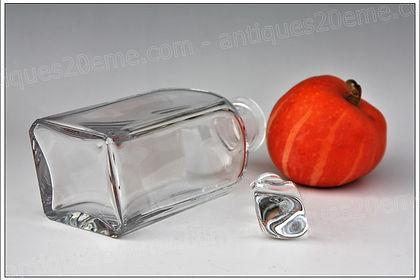 Service verres carafe cristal Baccarat Vologne