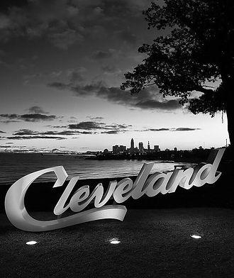 Cleveland, OH Skyline at Night
