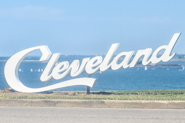 NE Ohio Cleveland Edgewater Sign