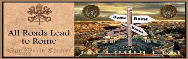 ALL ROADS LEAD TO ROME!!!