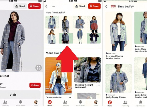 Pinterest Adds More Ways for Businesses to Share and Promote their Products