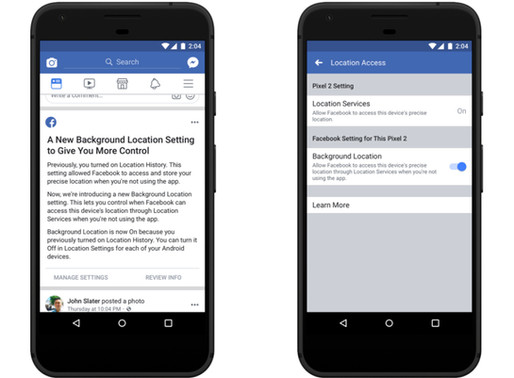 Facebook Changes Location Settings on Android to Reassure Users
