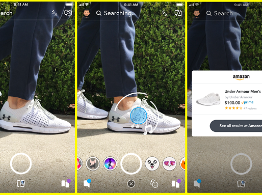 Snapchat Adds News Amazon eCommerce Integration, Facilitating Shopping In-App