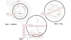 Erste Planungsideen: Die Kugel
