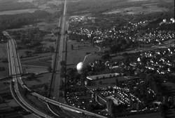 Dreisam, Zubringer Mitte und Gaskugel | 10.10.1979