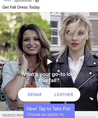 Facebook's Testing Video Polls Within Ads