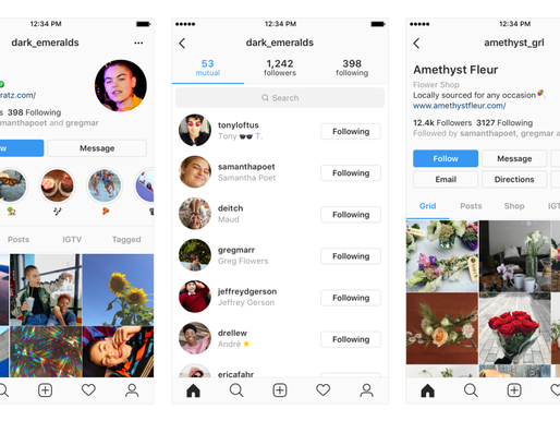 Instagram Flags Coming Profile Changes, for Both Regular and Business Users