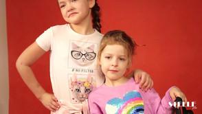 Фотопроект для весеннего номера STELLE дети