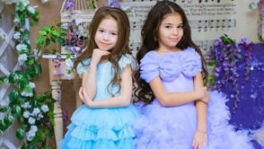 Съемка в дизайнерских платьях Fluffy skirts