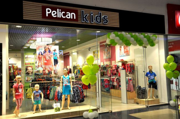 Магазин одежды Pelican