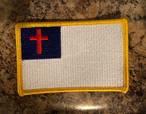 Christian Flag Patch
