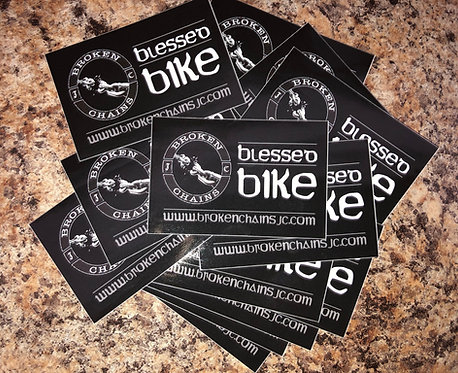 Blessed Bike Stickers ( 50 count )