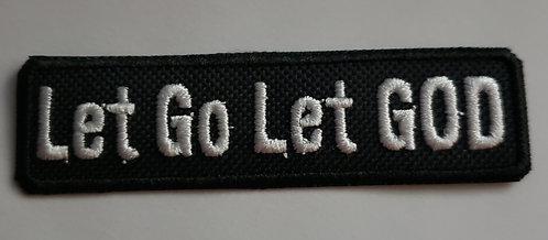Let Go Let God Patch