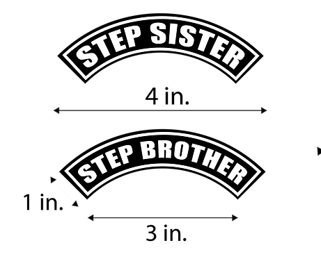 Small Step Brother/ Sister Patch