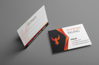 Business Cards for Phoenix Paving
