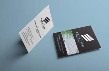 Buiness Cards for Easy Life Coverings