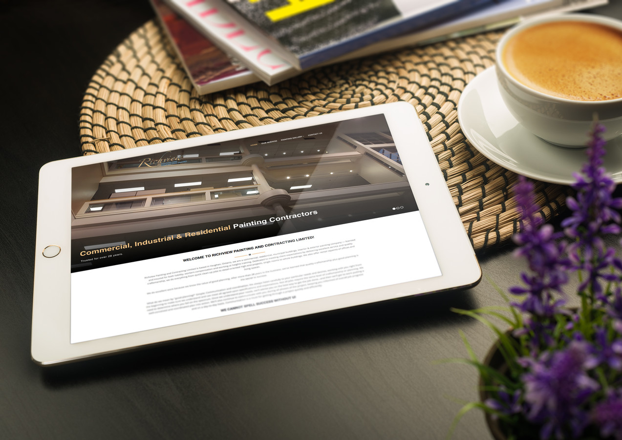 Fully Responsive Website for Richview Painting