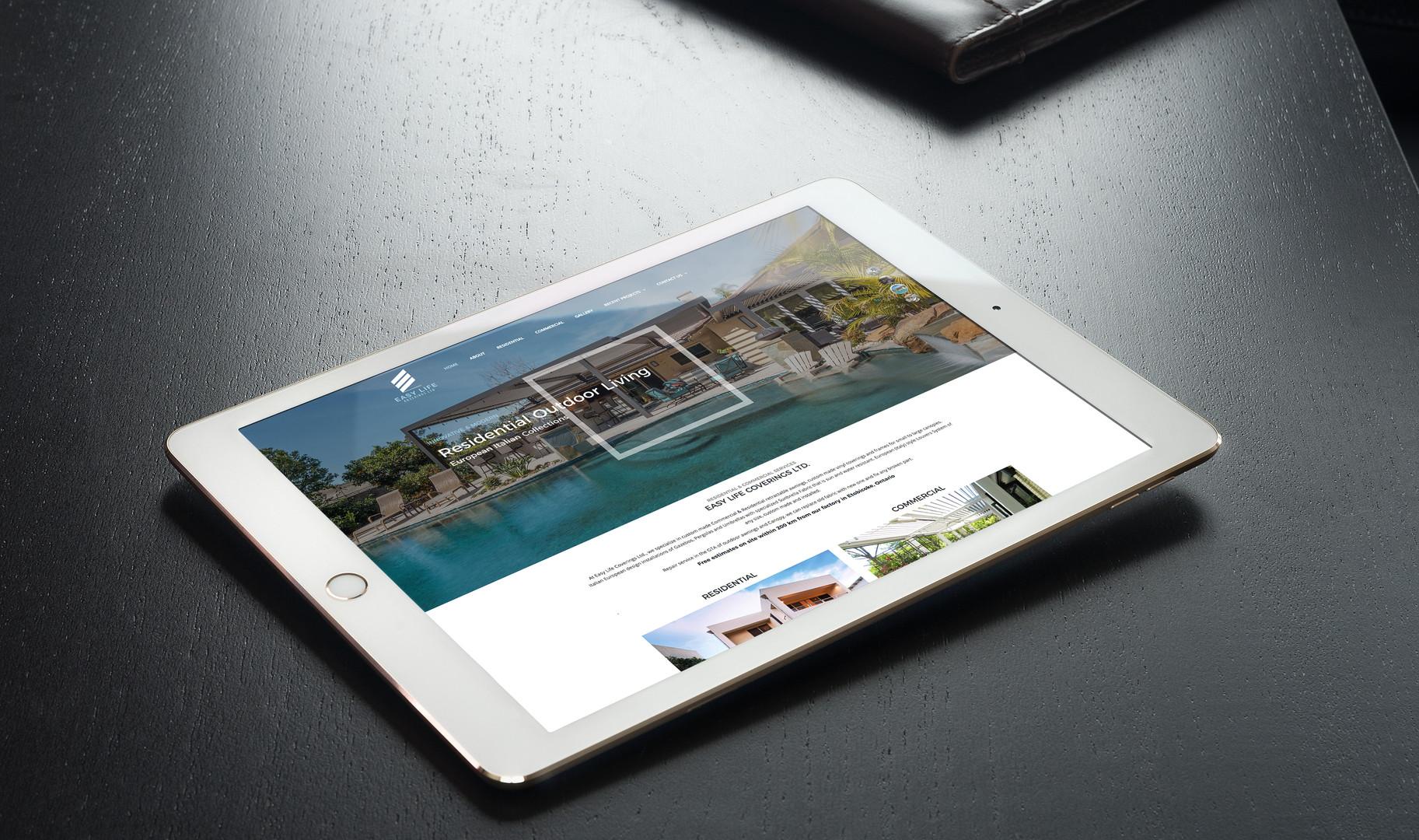Website for Easy Life Coverings