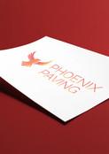Logo for Phoenix Paving
