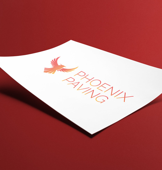 Logo for Phoenix Paving