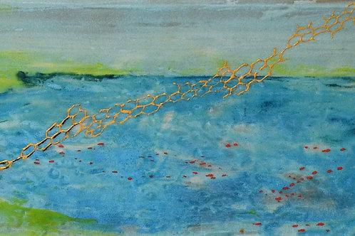 Lago azúl