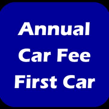 Annual Car Fee - Each additional Car