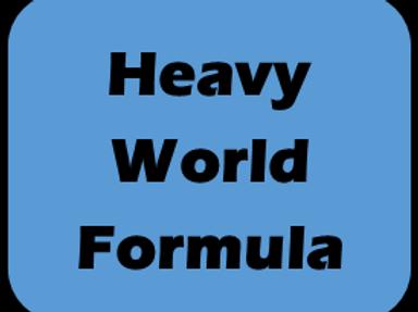 Hvy World Formula Race Day Fee