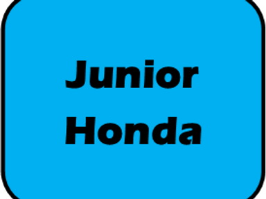 Jr Honda Race Day Fee