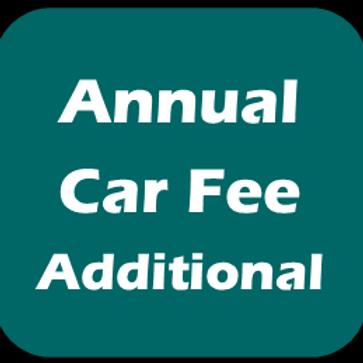 Annual Car Fee - First Car