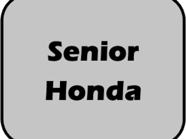 Sr Honda Race Day Fee