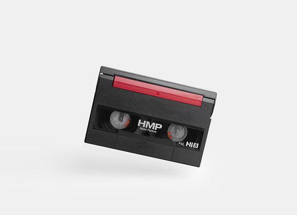 Video 8/Hi8/Digi 8/MiniDV (5 bis 10 Kassetten)