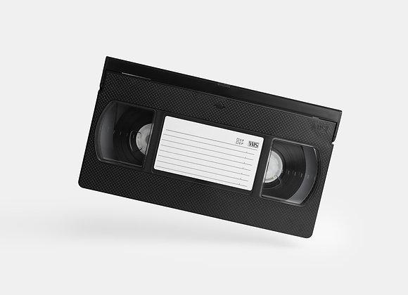 VHS/S-VHS (5 bis 10 Kassetten)