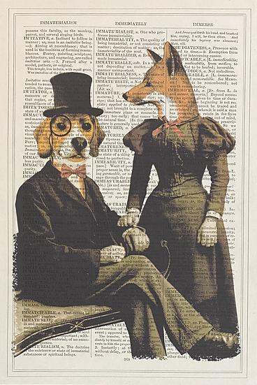 Beagle and Fox