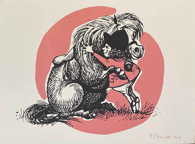 Thelwell's Hugging Pony